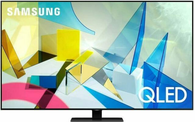 SAMSUNG Q80T QN55Q80TAF 55-Inch 4K UHD Smart QLED TV Smart TV-New