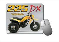 Yamaha 225dx Mouse Pad Mousepad - Three Wheeler, 3 Wheeler, Motor Bike