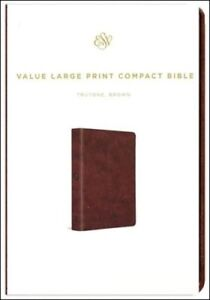 ESV-Value-Large-Print-Compact-Bible-TruTone-Imitation-Leather-Brown
