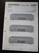 Original Grundig Service Manual    T210  T310   San Remo T 21