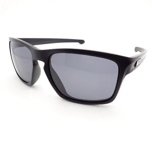 4b1d5d26f24 Oakley Sliver OO9269-01 Matte Black Grey New Authentic Sunglasses ...