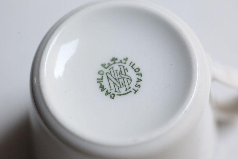 Porcelæn, Kaffekopper, Danild Tangent