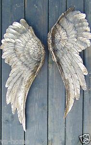 ... 2 Grosse Engelsfluegel Engel Fluegel Wanddeko Wandhaenger Wandschmuck