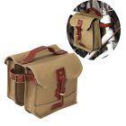 Tourbon Bike Bicycle Frame Bag Double Panniers Cycling Tube Pouch Vintage Brown