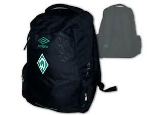 Umbro-SV-Werder-Bremen-Fan-Rucksack-schwarz-SVW-Backpack-Daybag-ca45x30x20-cm