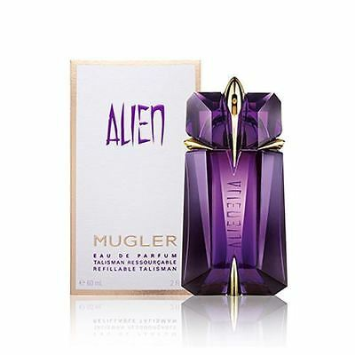 MUGLER ALIEN 60ML EDP eau de parfum Refillable spray New In Sealed Box~FREE POST