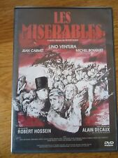 ** LES MISERABLES ** DVD LINO VENTURA CARMET BOUQUET HOSSEIN HUGO DECAUX