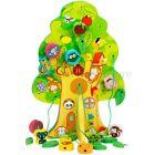 Kids Educational Wooden Toy Animal Lacing Fruit Tree Child  Stringing Beads Baby