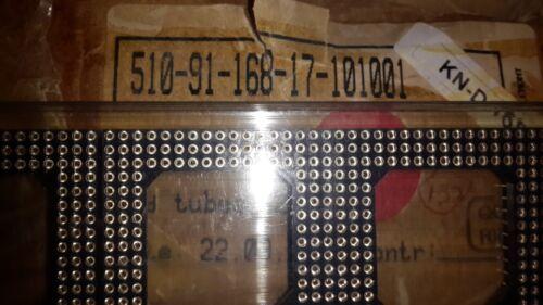 168 PIN GRID SOCKET T.H 2x PCS PRECI-DIP 510-91-168-17-101001 see picture !