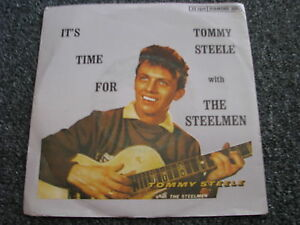Tommy-Steele-with-the-Steelmen-It-s-Time-for-7-PS-6-Tracks-Diamond-Record-DR3005