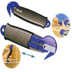 Utility-Knife-Cutter-Smart-Opener-for-Box-Carton-Stretch-Film-Safe-Warehouse-Use