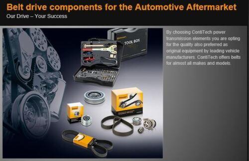 4 PK 850 ELAST Contitech Courroie D/'entraînement Fit BMW 525d//530d//535d E60//E61