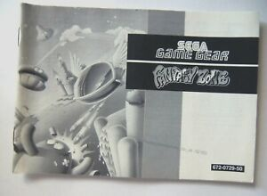 Constructif 52163 Instruction Booklet-fantasy Zone-sega Game Gear () 672-0729-50-afficher Le Titre D'origine éLéGant Et Gracieux
