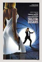 James Bond: The Living Daylights Timothy Dalton Usa Movie Poster 1987