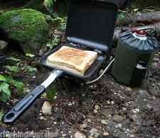 Grilla Deep Fill Sandwich Toaster Carp Fishing Camping Stove Toastie Maker