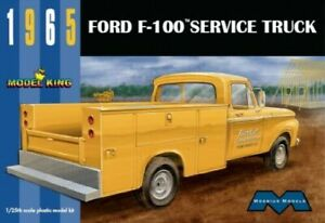 MOEBIUS-1235-1-25-1965-FORD-F100-SERVICE-TRUCK-MODEL-CAR-KIT-SEALED-FREE-SHIP