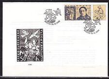 SLOVAKIA 1996  FDC  SC# 262  Stamp Day - Martin Benka stamp designer