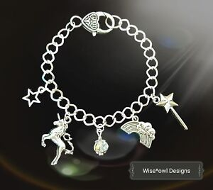 Details About UNICORN MAGICAL BRACELET 10TH 12TH 13TH16TH18TH21ST 30TH 40TH BIRTHDAY GIFT