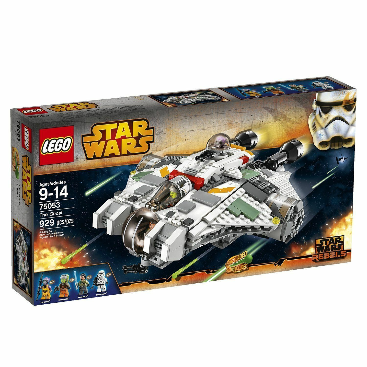 LEGO Star Wars 75053 The Ghost Building Toy New Sealed
