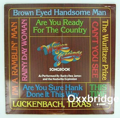 Sealed Waylon Jennings Songbook Bucky Dee James Nashville