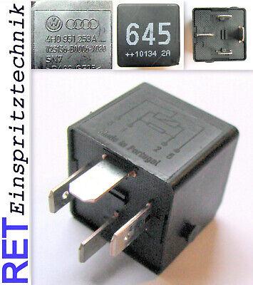 4H0951253A Original Audi A8 Air Suspension Compressor Relay 645 4H0 951 253 A x1