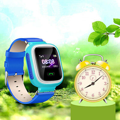 Q60 Smart Watch Watches Tracker SOS Call Children for Android iOS iPhone Pink