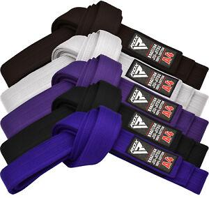 RDX-Jiu-Jitsu-GI-Belts-BJJ-Brazilian-Fight-Uniform-Belt-100-Cotton-MMA-US
