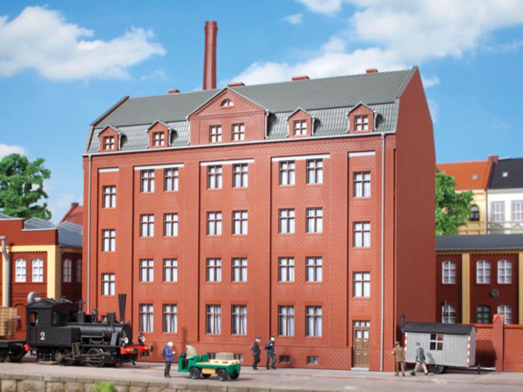 Auhagen 11424 Verwaltungsgebäude Bürogebäude Bausatz Bausatz Bausatz H0 Neu  | Gewinnen Sie hoch geschätzt  41f4a2