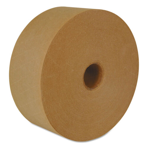 """ipg Reinforced Water-Activated Tape 2.83/"""" x 450/' Natural 10//Carton K7000"""