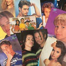 Vintage Lot 1990s Teen Magazine Clippings JTT Joey Lawrence Devon Sawa Poster