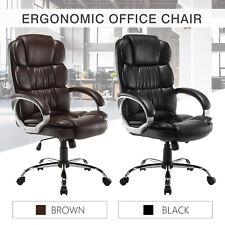 Pleasant Pu Leather High Back Office Chair Executive Task Ergonomic Computer Desk Download Free Architecture Designs Grimeyleaguecom
