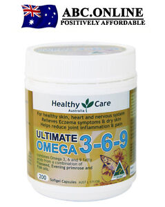 Healthy care omega 3 6 9 fish oil eczema joint pain blood for Fish oil joint pain