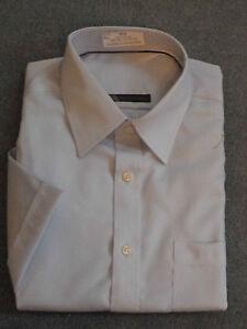 New-Mens-Shirt-Pure-100-Cotton-Short-Sleeve-Shirt-Excellent-Quality