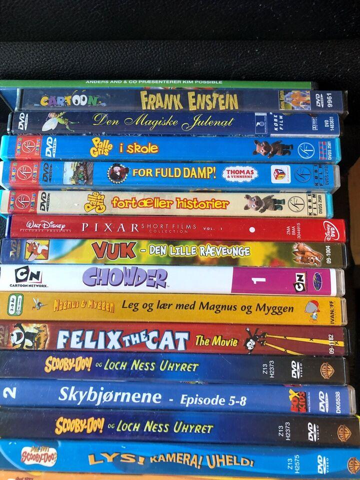 26stk tegnefilm, instruktør blandet, DVD