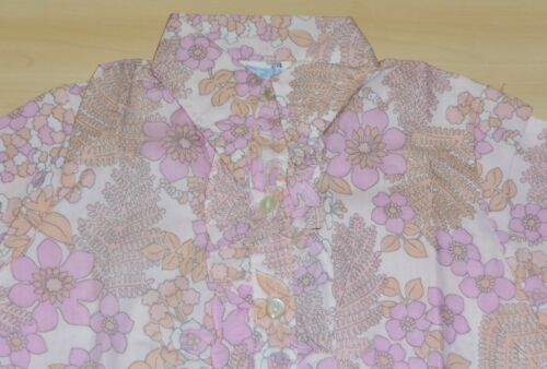 3 PACK OF VINTAGE 1970s GIRLS FLORAL PATTERNED  BLOUSES ASSORTED COLOURS /& AGESS