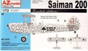 Az Models 1/72 Saiman 200, Croate, Yougoslave, Italien, Le #74075
