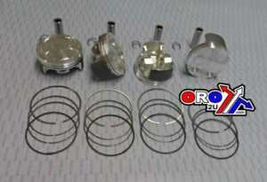SUZUKI-GSXR1000-2005-2008-73-40-amp-GRANDE-FORO-WOSSNER-Pistone-CORSA-SET-X4
