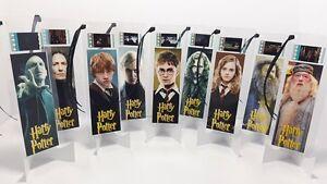 Harry Potter Lot Set Of 9 Movie Film Cell Bookmarks Cinema