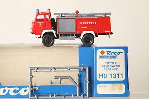 Roco H0 1:87 1311 Fire Brigade Steyr Tlfa 4000 IN Orig. Packaging (156583 33)