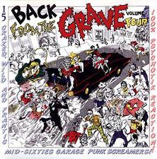 BACK FROM THE GRAVE VOLUME 4 CRYPT RECORDS LP VINYLE NEUF NEW VINYL GATEFOLD