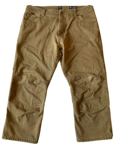 Men's Kuhl Khaki Pants Vintage Patina Dye Size 40x