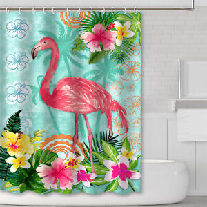 69x70-Inch-3D-Printed-Waterproof-Fabric-Bathroom-Shower-Curtain-Set-With-Hooks