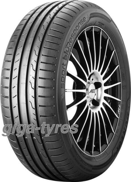 2x SUMMER TYRE Dunlop Sport BluResponse 205/55 R16 91V