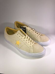 b90584c10022 VINTAGE CONVERSE ONE STAR Suede LOW Skate 159814C VANILLA SHOES US ...