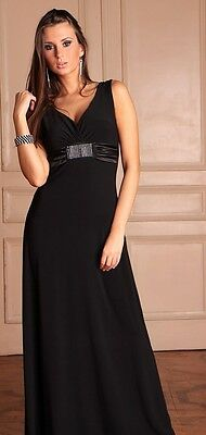 Long Party Evening Formal Ladies Women Cocktail Prom Full Maxi Dress Size 8 - 22