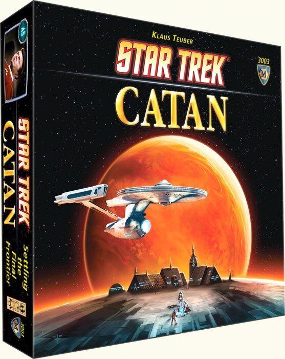 Star Trek Catan NEW SEALED SEALED SEALED 7123b0