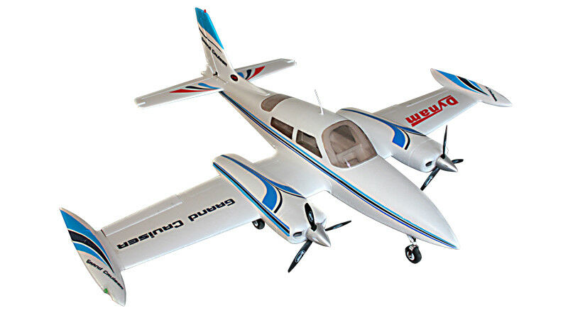 Dynam Grand Cruiser Cessna 310 RTF Retracts PNP no Tx Rx Bat Chg