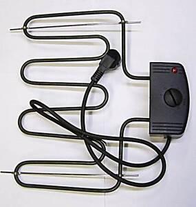 elektrische heizung r ucherofen 2000w r ucherschrank ebay. Black Bedroom Furniture Sets. Home Design Ideas