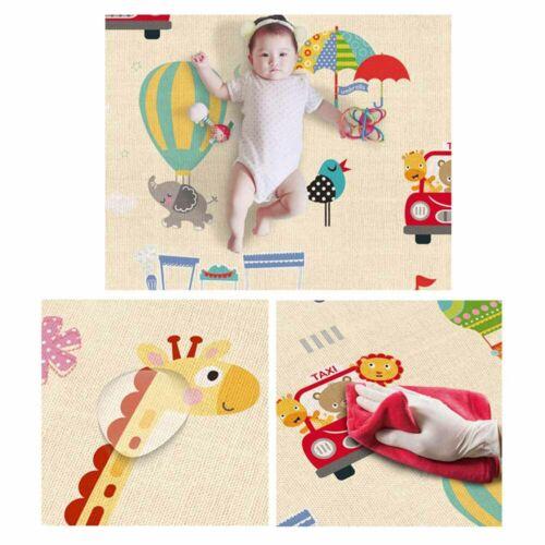 Praktisch Indoor Baby Kinderteppich wasserdicht Krabbel Decke spielplatz Teppich