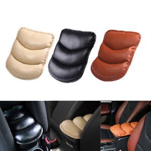 1x-Hot-Universal-Car-Center-Box-PU-Armrest-Console-Soft-Pad-Cushion-Cover-Wear